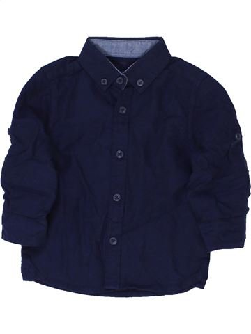 Chemise manches longues garçon PRIMARK noir 9 mois hiver #1360524_1
