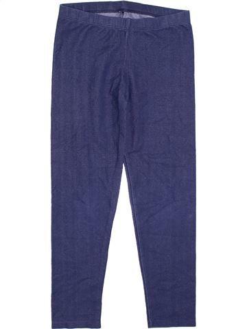 Legging fille GEORGE bleu 10 ans hiver #1360548_1