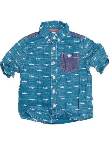 Camisa de manga corta niño MINI CLUB azul 2 años verano #1360805_1
