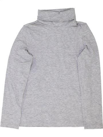 Camiseta de cuello alto niña ALIVE gris 8 años invierno #1360887_1