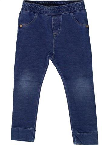 Legging fille IKKS bleu 2 ans hiver #1361228_1