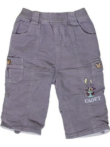 Pantalon garçon CADET ROUSSELLE gris 6 mois hiver #1361276_1