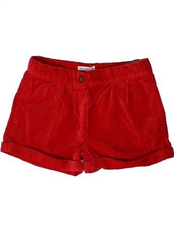 Short - Bermuda fille BOUT'CHOU rouge 3 ans hiver #1361398_1