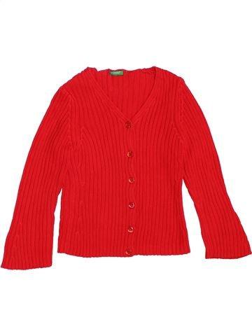 Chaleco niña BENETTON rojo 4 años invierno #1361469_1
