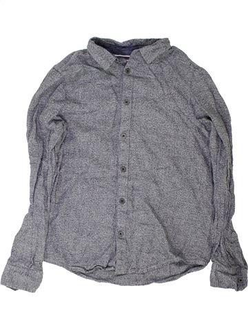 Chemise manches longues garçon PRIMARK gris 11 ans hiver #1361627_1