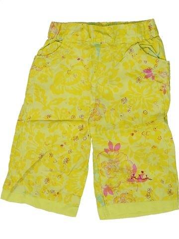 Pantalon fille 3 POMMES vert 18 mois été #1362027_1