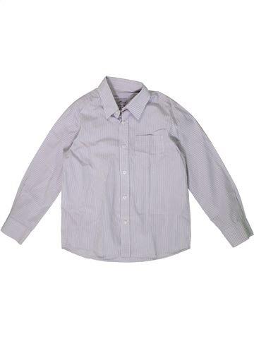 Chemise manches longues garçon CYRILLUS violet 6 ans hiver #1362279_1