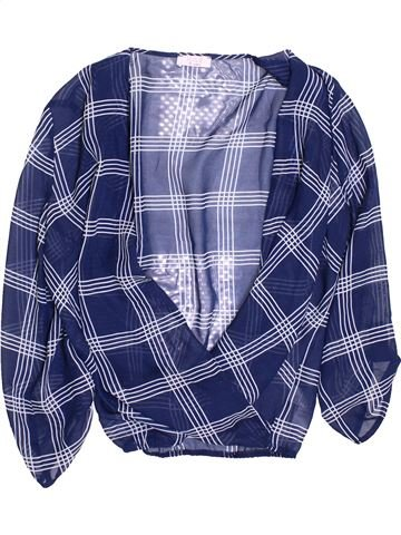 Blusa de manga larga niña KYLIE azul 12 años verano #1362539_1