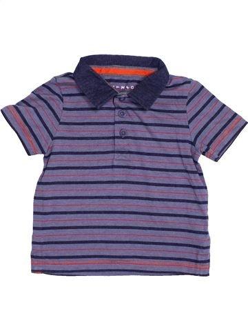 Polo manches courtes garçon NUTMEG bleu 2 ans été #1363053_1
