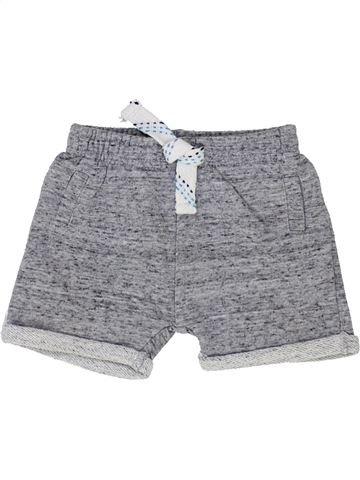 Short - Bermuda garçon F&F gris 6 mois été #1363151_1