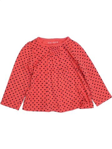 T-shirt manches longues fille NUTMEG rose 3 ans hiver #1363256_1