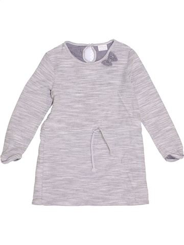 Robe fille F&F blanc 6 ans hiver #1363751_1