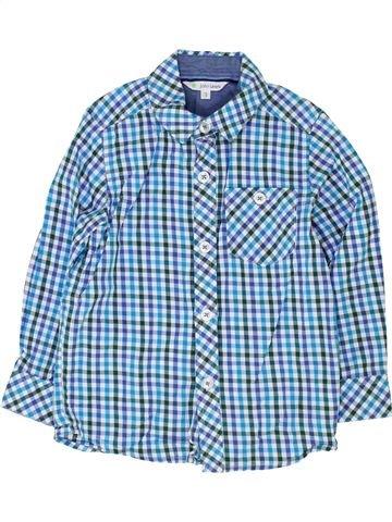 Chemise manches longues garçon JOHN LEWIS bleu 3 ans hiver #1363880_1