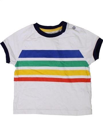 T-shirt manches courtes garçon NUTMEG blanc 2 ans été #1364204_1