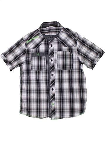 Chemise manches courtes garçon C&A gris 10 ans été #1364250_1