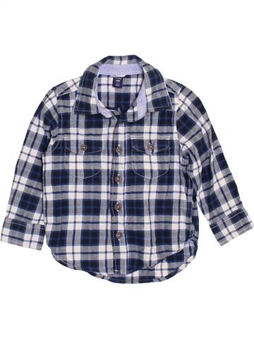 Camisa de manga larga niño GAP gris 3 años invierno #1364464_1
