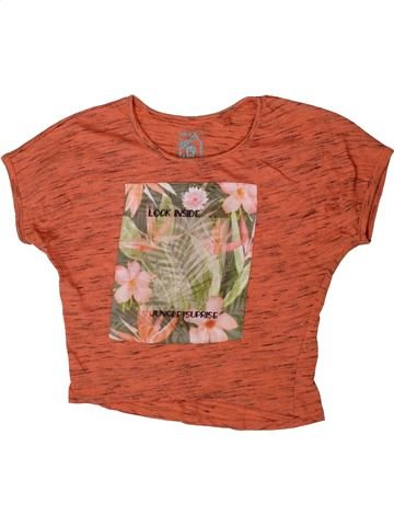 T-shirt manches courtes fille C&A rouge 8 ans été #1364650_1