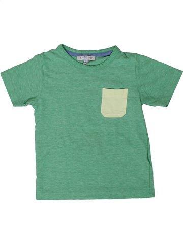 T-shirt manches courtes garçon MARKS & SPENCER vert 2 ans été #1365041_1