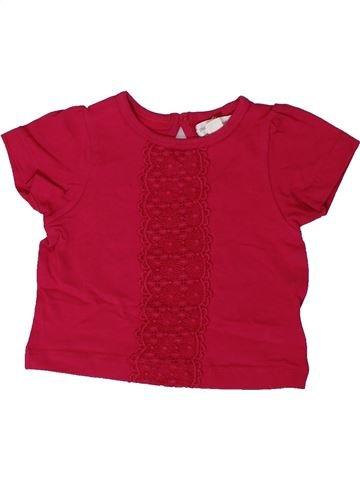 T-shirt manches courtes fille PUMPKIN PATCH rouge 3 mois été #1365217_1