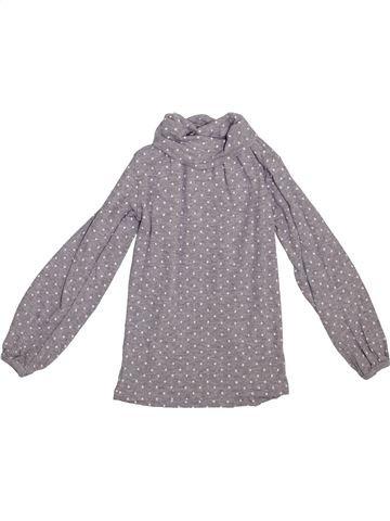 Camiseta de cuello alto niña LA REDOUTE CRÉATION gris 4 años invierno #1365370_1