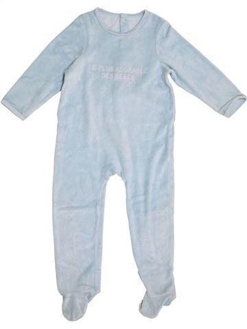 Pijama de 1 pieza niño VERTBAUDET azul 3 años invierno #1365533_1