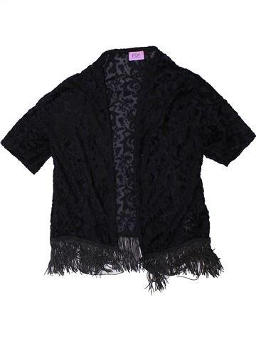 Pull fille F&F noir 9 ans hiver #1365801_1