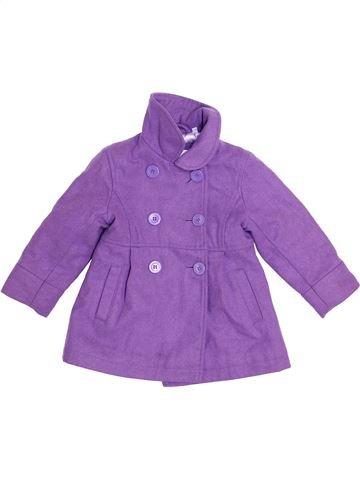 Manteau fille C&A violet 4 ans hiver #1366253_1