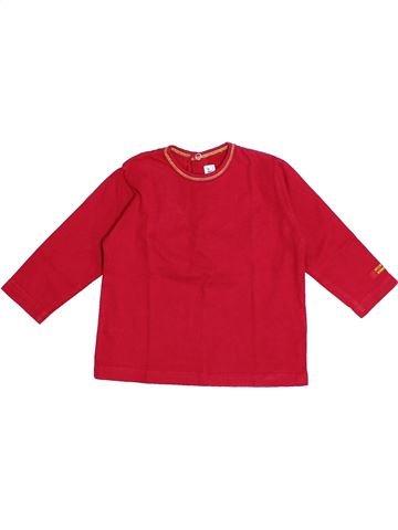Camiseta de manga larga niño SUCRE D'ORGE rojo 12 meses invierno #1366347_1