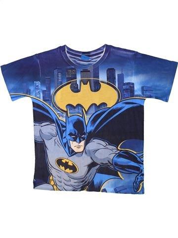 T-shirt manches courtes garçon GEORGE bleu 9 ans été #1366555_1