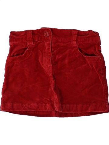 Falda niña CFK rojo 6 años invierno #1366763_1