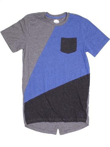 T-shirt manches courtes garçon F&F violet 12 ans été #1366899_1