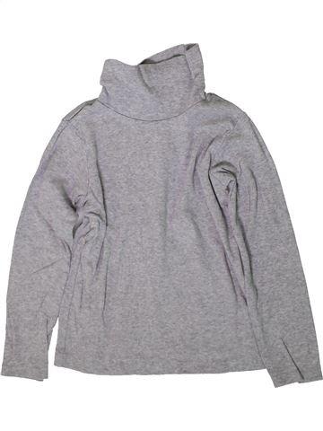 T-shirt col roulé fille CARTER'S gris 5 ans hiver #1367000_1
