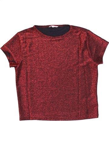 Camiseta de manga corta niña MISS E-VIE marrón 14 años verano #1367033_1