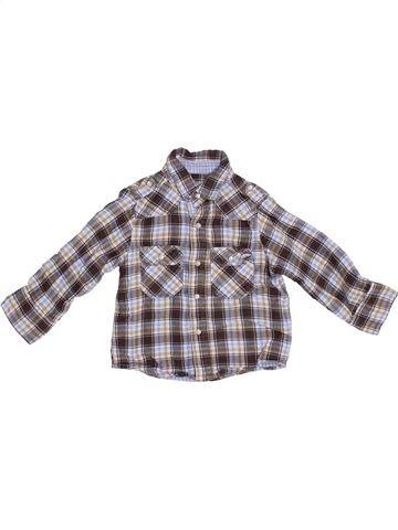 Chemise manches longues garçon PRIMARK gris 12 mois hiver #1367157_1