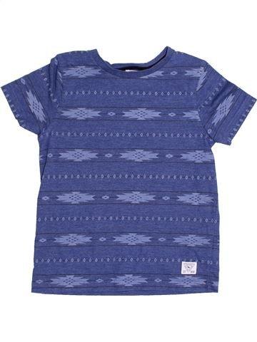 T-shirt manches courtes garçon F&F bleu 7 ans été #1367300_1