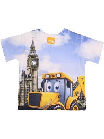 T-shirt manches courtes garçon GEORGE marron 3 ans été #1367338_1