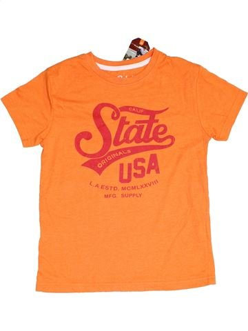 T-shirt manches courtes garçon PRIMARK orange 10 ans été #1367446_1
