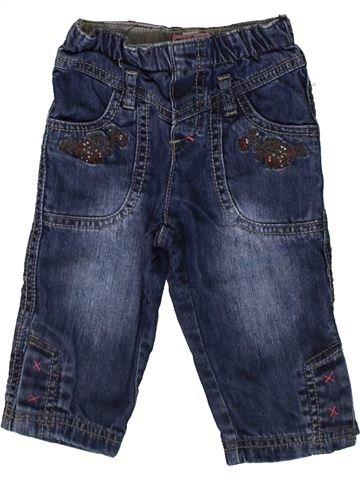 Pantalon fille CONFETTI bleu 12 mois hiver #1367494_1