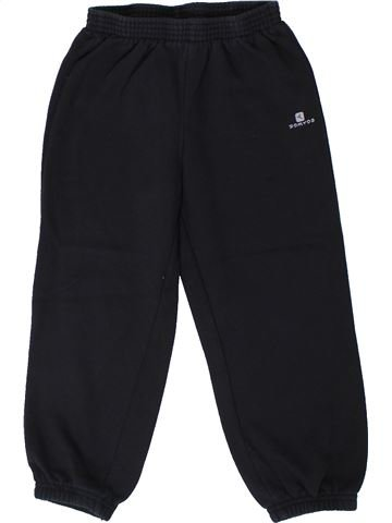 Pantalon garçon DOMYOS noir 5 ans hiver #1367590_1