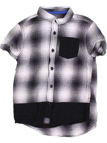 Chemise manches courtes garçon F&F gris 6 ans été #1367903_1