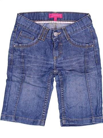 Short - Bermuda fille MARKS & SPENCER bleu 7 ans été #1368000_1