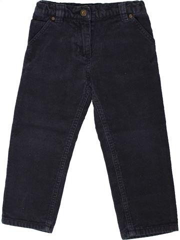 Pantalon garçon 3 SUISSES bleu foncé 3 ans hiver #1368095_1
