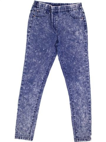 Pantalon fille GEORGE bleu 11 ans hiver #1368247_1