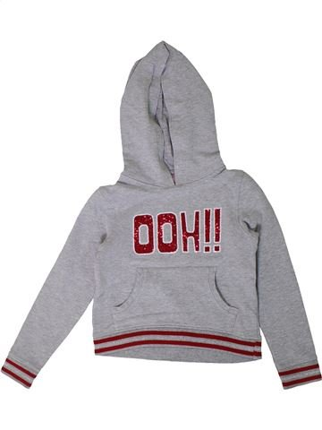 Sweat fille ORCHESTRA gris 8 ans hiver #1368271_1
