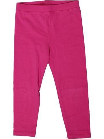 Legging niña GAP rosa 3 años verano #1368332_1