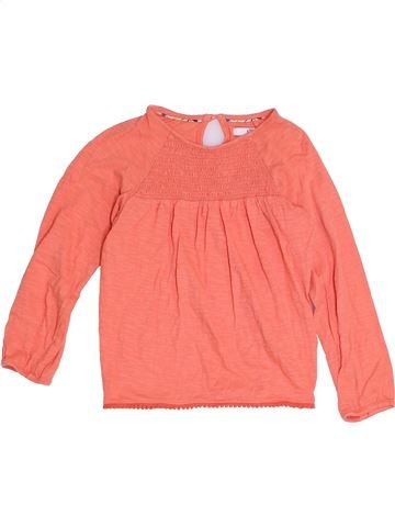 T-shirt manches longues fille MARKS & SPENCER rose 6 ans hiver #1368522_1