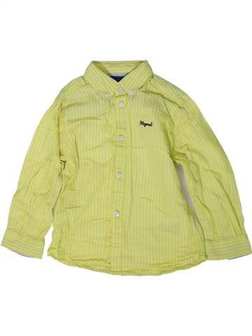 Camisa de manga larga niño MAYORAL verde 2 años invierno #1368906_1