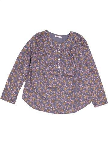 Blusa de manga larga niña MONOPRIX gris 8 años invierno #1368943_1