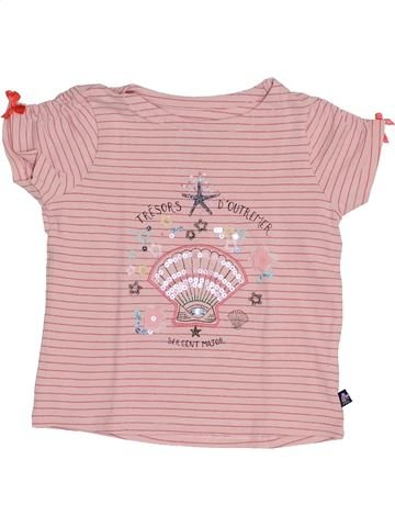 T-shirt manches courtes fille SERGENT MAJOR rose 3 ans été #1368992_1