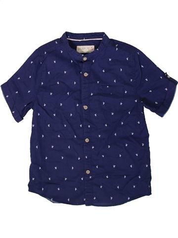 Chemise manches courtes garçon ZARA bleu 6 ans été #1369143_1